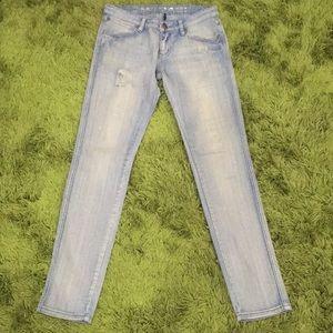 Medasi Jeans Size 28 Low Rise Straight Cut Denim